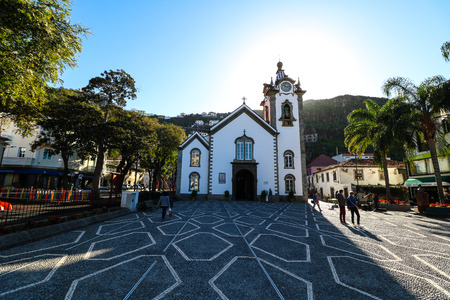 Ribeira Brava on the south coast of Madeira Island, Portugal