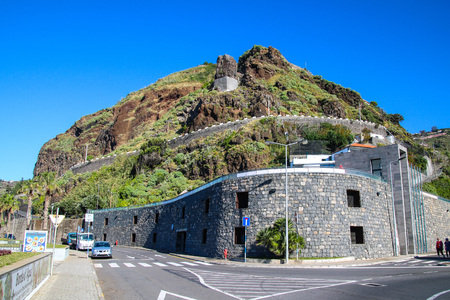 Ribeira Brava on the south coast of Madeira Island, Portugal