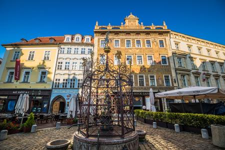 Little Square in Prague, Czech Republic
