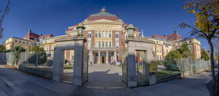 Wilhelm Exner-huis in Wenen, Oostenrijk