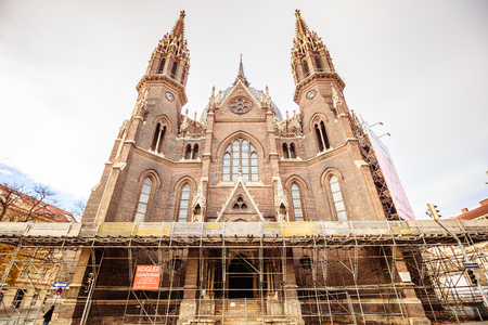 Church of Our Lady Victorious in Vienna Austria