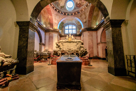 The Imperial Crypt at Vienna's New Market Editorial