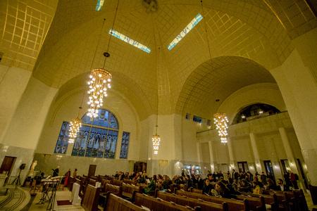 Otto Wagner church (Kirche am Steinhof) in Vienna, Austria