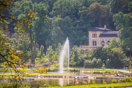 Royal Park Stromovka (Královská obora Stromovka) in Prague, Czech Republic Reklamní fotografie