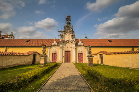 Monastery and Pilgrimage Church on the White Mountain in Prague, Czech Republic