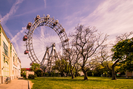 The famous Prater in Vienna, Austria? springtime 2018