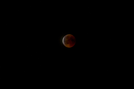 The longest lunar eclipse of this century on 27.7.2018 in Vienna, Austria