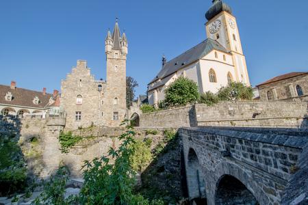 The old town of Waidhofen on the Ybbs in summer, Mostviertel, Lower Austria, Austria