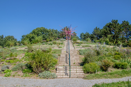 The Roses Hill at Spa Garden Oberlaa in Vienna, Austria