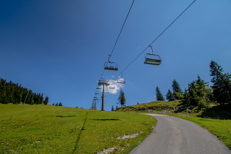 The Hochkar Mountain in G?stlinger Alps in summer, Mostviertel, Lower Austria, Austria Reklamní fotografie