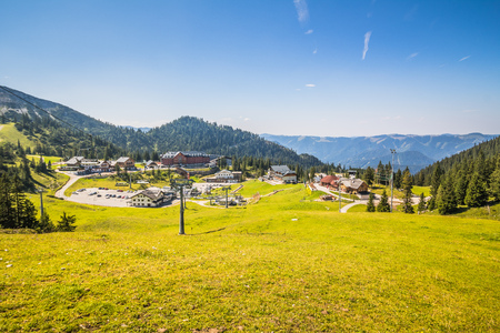 The Hochkar Mountain in G?stlinger Alps in summer, Mostviertel, Lower Austria, Austria Stock Photo