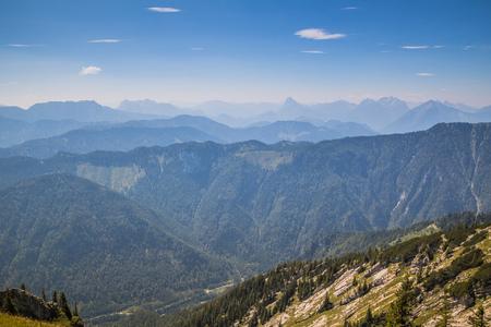 The Hochkar Mountain in G?stlinger Alps in summer, Mostviertel, Lower Austria, Austria Imagens - 126836198