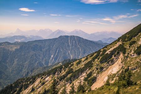 The Hochkar Mountain in G?stlinger Alps in summer, Mostviertel, Lower Austria, Austria Imagens - 126836201