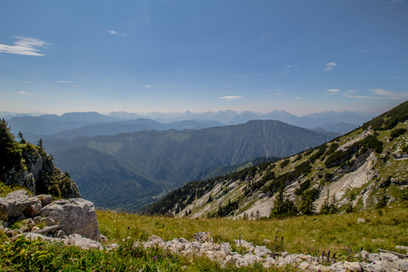 The Hochkar Mountain in G?stlinger Alps in summer, Mostviertel, Lower Austria, Austria Imagens - 126835003