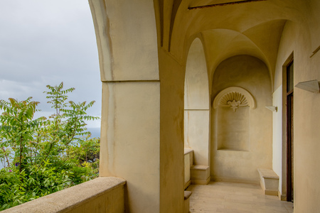 The Carthusian monastery in Capri, Italy