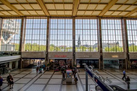 The Vienna Westbahnhof? West Station - in spring, Austria
