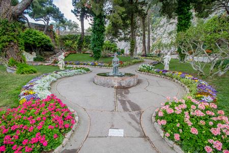 Capri, Campania, Italy? 05/12/2018: The Gardens of Augustus