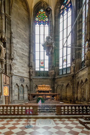 The Vienna landmark - St. Stephens Cathedral, Austria