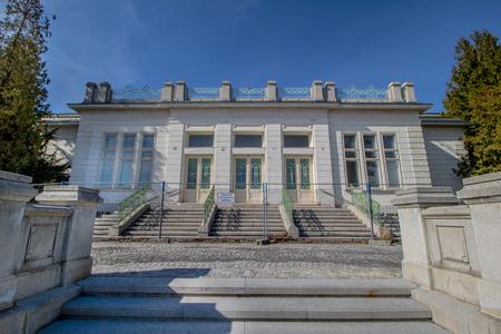 Otto Wagner Hospital in Vienna, Austria Imagens - 126923921