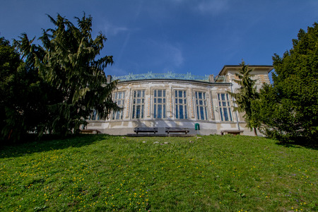 Otto Wagner Hospital in Vienna, Austria Imagens - 126923928