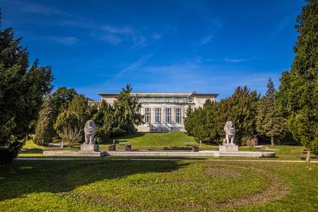 Otto Wagner Hospital in Vienna, Austria Imagens - 126923933