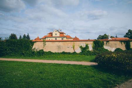 The Benedictine Monastery Venio at the White Mountain in Prague, Czech Republic Standard-Bild