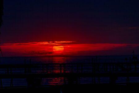 Sunset on Lake Constance in Bregenz, Austria Imagens - 132053607