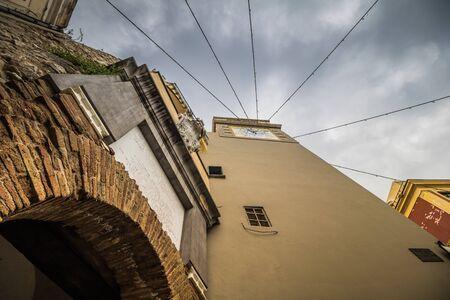 The famous Piazzetta in the center of Capri, Italy Standard-Bild - 128839511