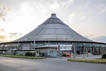 The waste treatment plant Rinterzelt in Vienna, Austria
