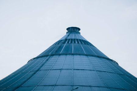The waste treatment plant Rinterzelt in Vienna, Austria Zdjęcie Seryjne