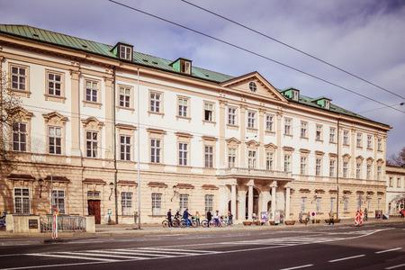 Mirabell Square (Mirabellplatz) in Salzburg, Austria Imagens - 133425935