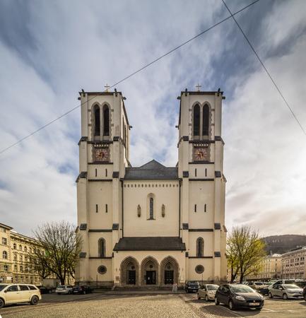 Mirabell Square (Mirabellplatz) in Salzburg, Austria Imagens - 133425936