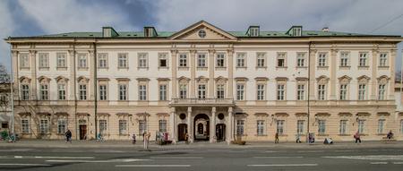 Mirabell Square (Mirabellplatz) in Salzburg, Austria Imagens - 133425937