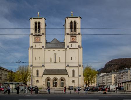 Mirabell Square (Mirabellplatz) in Salzburg, Austria Imagens - 133425940
