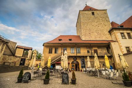 The third castle courtyard of Prague Castle at summer in Prague, Czech Republic Imagens - 133425958