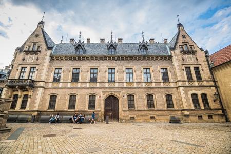 The third castle courtyard of Prague Castle at summer in Prague, Czech Republic Imagens - 133425982