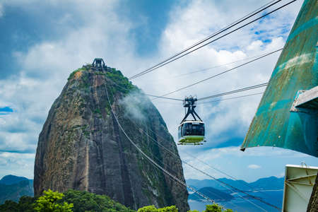 Sugar Loaf Mountain in Summer, Rio de Janeiro, Brazil