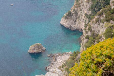 Parco Astarita on the island Capri, Italy Standard-Bild - 146874427