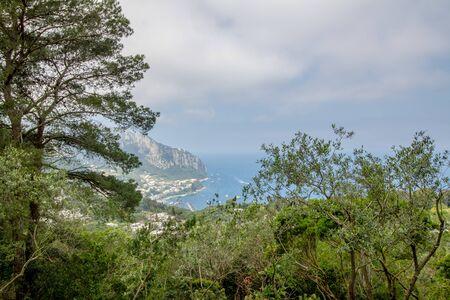 Parco Astarita on the island Capri, Italy Standard-Bild - 146874451
