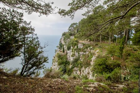 Parco Astarita on the island Capri, Italy Standard-Bild - 146874453