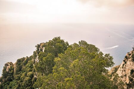 Parco Astarita on the island Capri, Italy Standard-Bild - 146874455