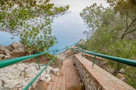 Parco Astarita on the island Capri, Italy Standard-Bild - 146874523