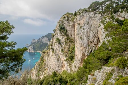 Parco Astarita on the island Capri, Italy Standard-Bild - 146874551