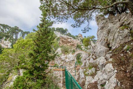 Parco Astarita on the island Capri, Italy