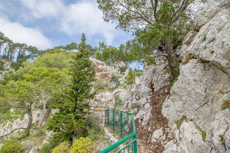 Parco Astarita on the island Capri, Italy Standard-Bild - 146874561