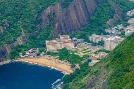 Vermelha Beach in summer, Rio de Janeiro, Brazil Standard-Bild - 146874564