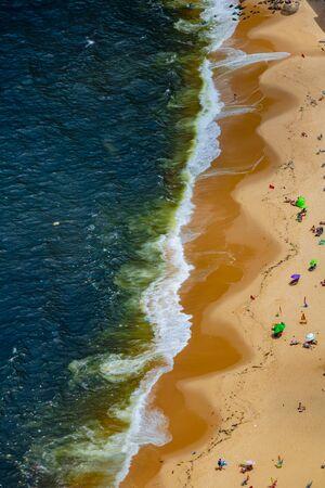 Vermelha Beach in summer, Rio de Janeiro, Brazil Standard-Bild - 146874566