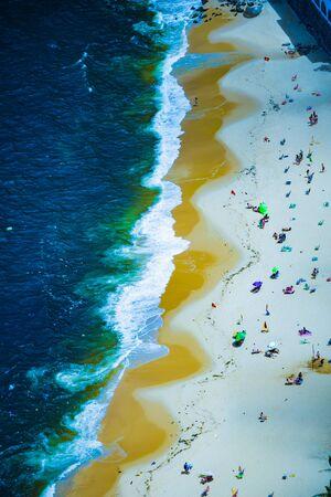 Vermelha Beach in summer, Rio de Janeiro, Brazil Standard-Bild - 146874567