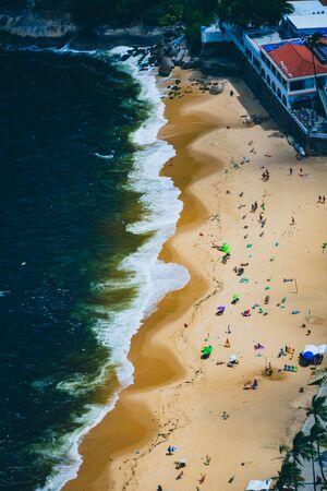 Vermelha Beach in summer, Rio de Janeiro, Brazil Standard-Bild - 146874568
