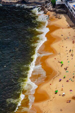 Vermelha Beach in summer, Rio de Janeiro, Brazil Standard-Bild - 146874604